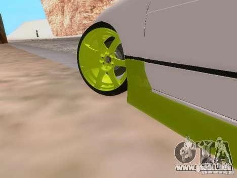 Nissan Silvia S13 Drift Style para GTA San Andreas interior