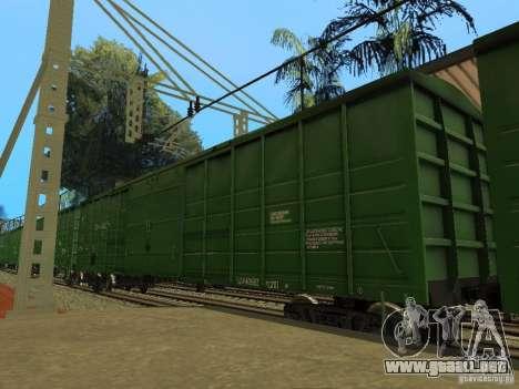 Modificación del ferrocarril III para GTA San Andreas novena de pantalla