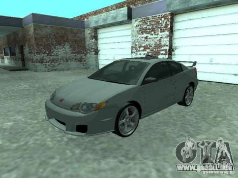 Saturn Ion Quad Coupe 2004 para la vista superior GTA San Andreas