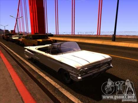ENBSeries v2.0 para GTA San Andreas segunda pantalla