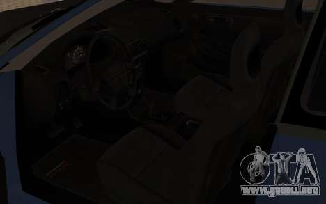 Acura Integra Type R 2000 para GTA San Andreas vista hacia atrás