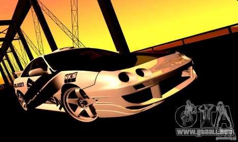 Acura Integra Type R para GTA San Andreas vista posterior izquierda