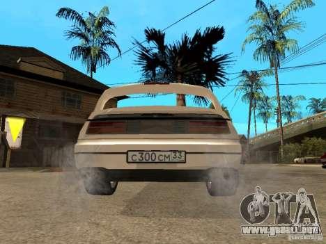 Nissan 300 ZX para GTA San Andreas vista posterior izquierda