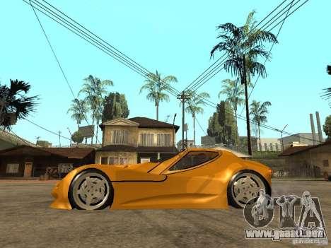 Gillet Vertigo para GTA San Andreas left