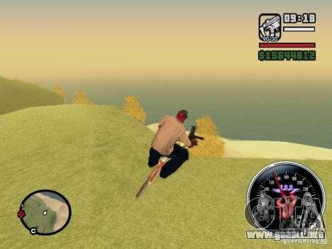 Speed Udo para GTA San Andreas tercera pantalla