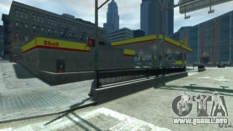 Shell Petrol Station V2 Updated para GTA 4 tercera pantalla
