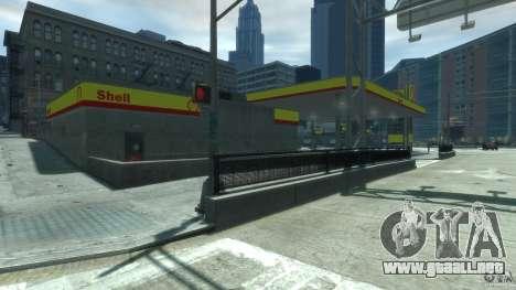 Shell Petrol Station V2 Updated para GTA 4 tercera pantalla