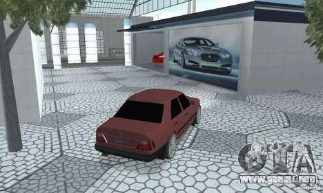 Mercedes-Benz 200D para GTA San Andreas left