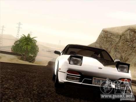 Nissan 240SX S13 - Stock para GTA San Andreas interior