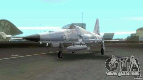 US Air Force para GTA Vice City visión correcta
