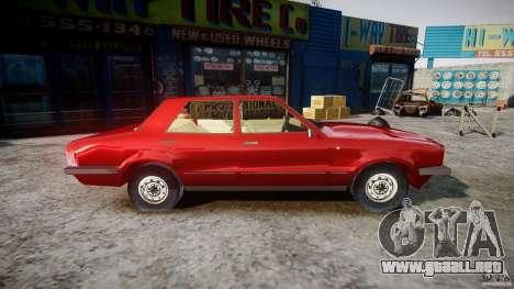 Ford Taunus para GTA 4 vista hacia atrás