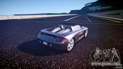 Porsche Carrera GT v.2.5 para GTA 4 Vista posterior izquierda