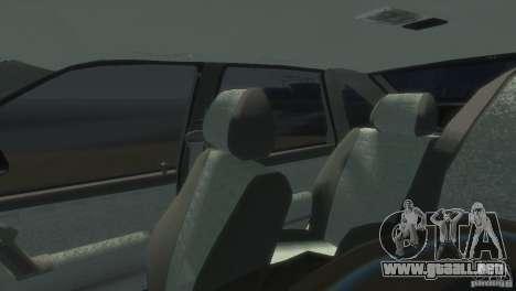 VAZ-2112 para GTA 4 vista hacia atrás