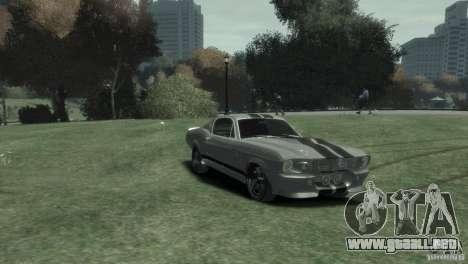 Ford Shelby GT500 Eleanor para GTA 4 visión correcta