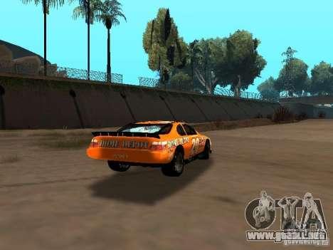 Toyota Camry Nascar Edition para la visión correcta GTA San Andreas