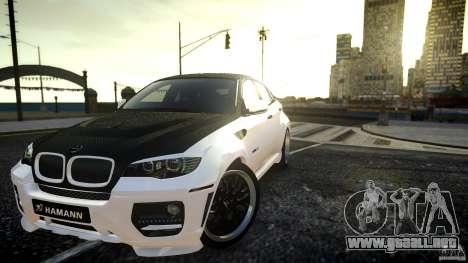 BMW X 6 Hamann para GTA 4