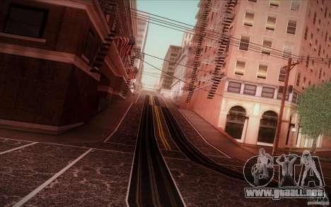 New roads San Fierro para GTA San Andreas sucesivamente de pantalla