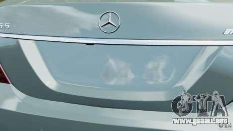 Mercedes-Benz S65 AMG 2012 v1.0 para GTA motor 4