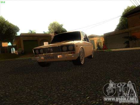 VAZ 2106 Tuning luz para GTA San Andreas left