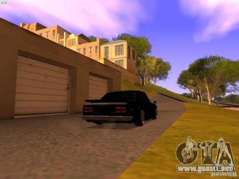 Nissan Skyline 2000GTR para GTA San Andreas left