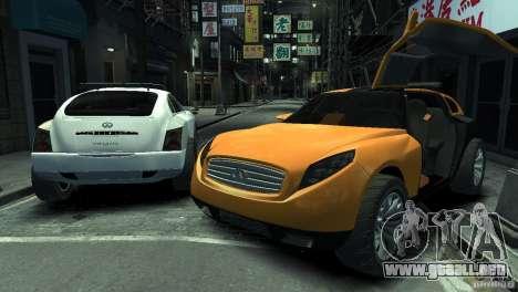 Infiniti Triant Concept para GTA 4 left