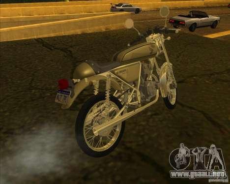 Honda Dream 50 para GTA San Andreas left