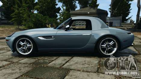 BMW Z8 2000 para GTA 4 left