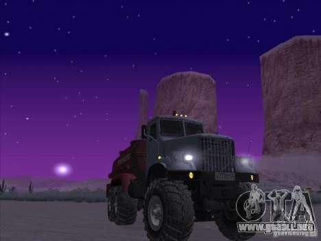 Camión de combustible KrAZ-255 para GTA San Andreas