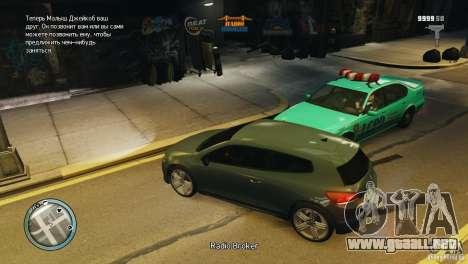 Coloured Radio HUD para GTA 4 sexto de pantalla