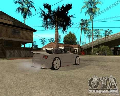 BMW Z4 Supreme Pimp TUNING volume II para la visión correcta GTA San Andreas