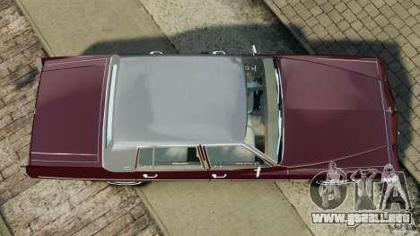 Cadillac Fleetwood Brougham Delegance 1986 para GTA 4 vista hacia atrás