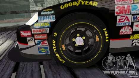 Chevy Monte Carlo SS FINAL para GTA 4 vista hacia atrás