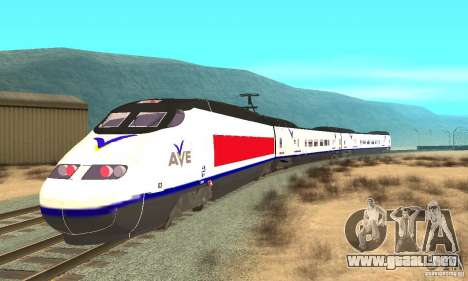 Express Train para GTA San Andreas