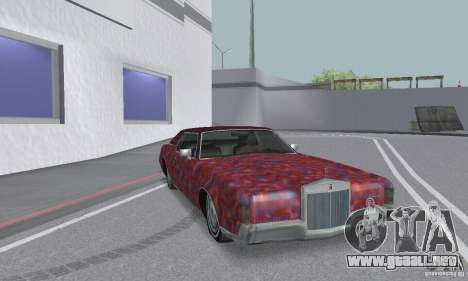 Lincoln Continental Mark IV 1972 para las ruedas de GTA San Andreas