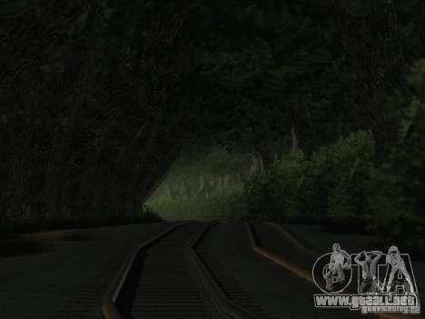 Bosque en Las Venturas para GTA San Andreas quinta pantalla