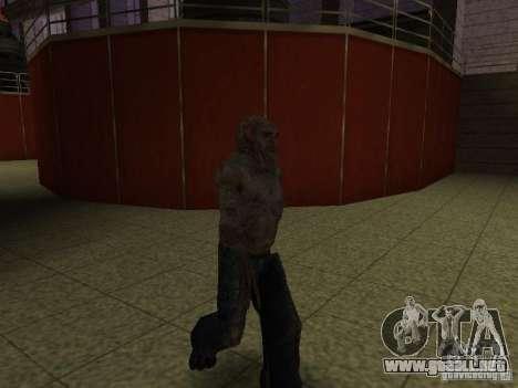 Controlador de S.T.A.L.K.E.R. para GTA San Andreas tercera pantalla