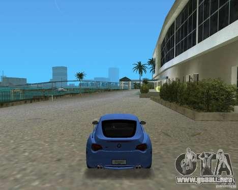 BMW Z4 para GTA Vice City left