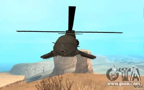 Scout Drone from BO2 para GTA San Andreas vista posterior izquierda