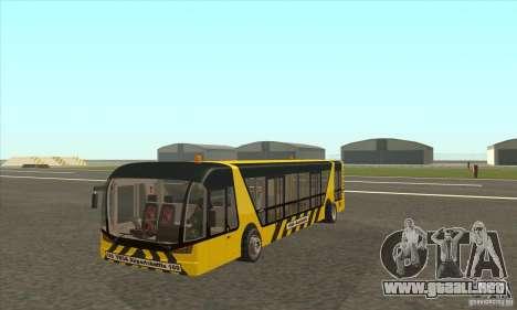 Autobús al aeropuerto para GTA San Andreas