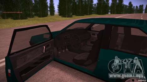 VAZ 2108 baja Classic para la visión correcta GTA San Andreas