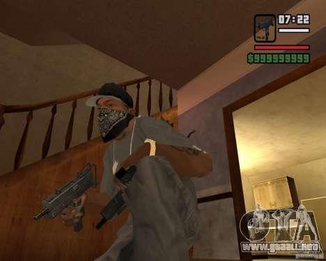 MAC-10 para GTA San Andreas segunda pantalla