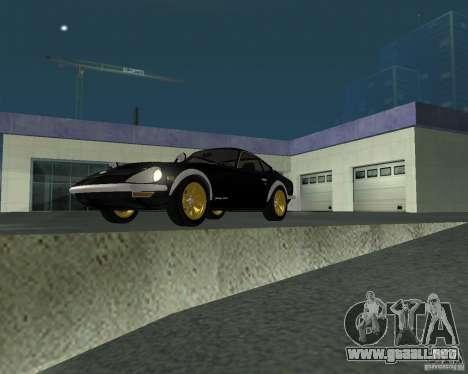 Nissan  Fairlady 240ZG para la visión correcta GTA San Andreas