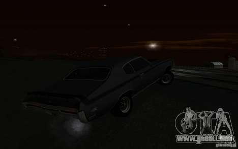 Buick GSX 1970 para la vista superior GTA San Andreas