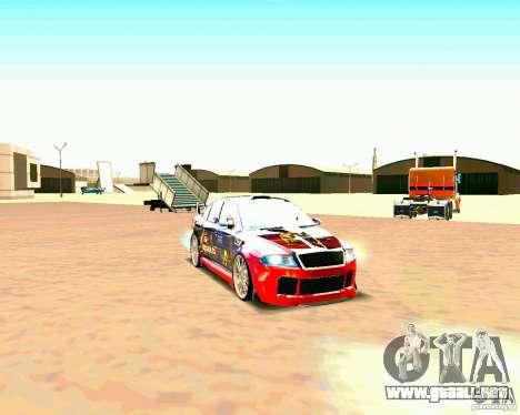 Skoda Octavia III Tuning para GTA San Andreas left