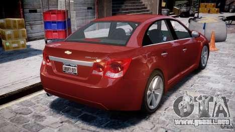 Chevrolet Cruze para GTA 4 visión correcta