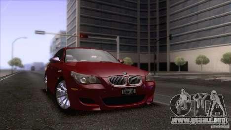 BMW M5 2009 para el motor de GTA San Andreas