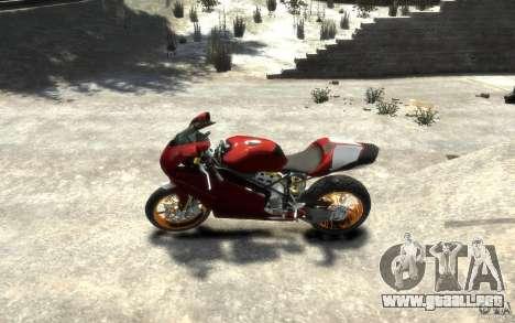 Ducati 999R para GTA 4 left