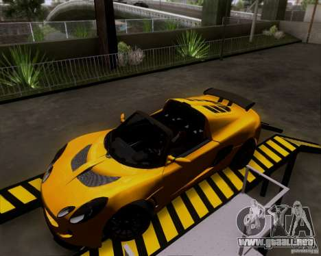 Lotus Exige para GTA San Andreas left