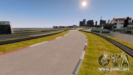 Tsukuba Circuit v3.0 para GTA 4 adelante de pantalla