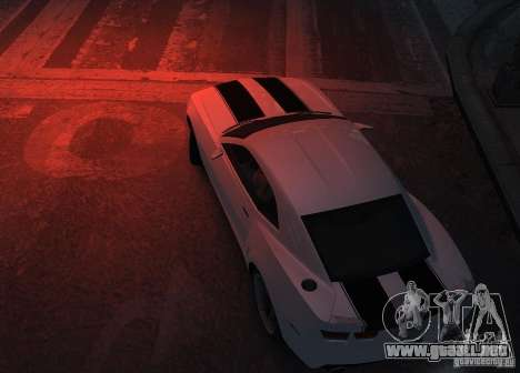 Chevrolet Camaro concept 2007 para GTA 4 vista hacia atrás